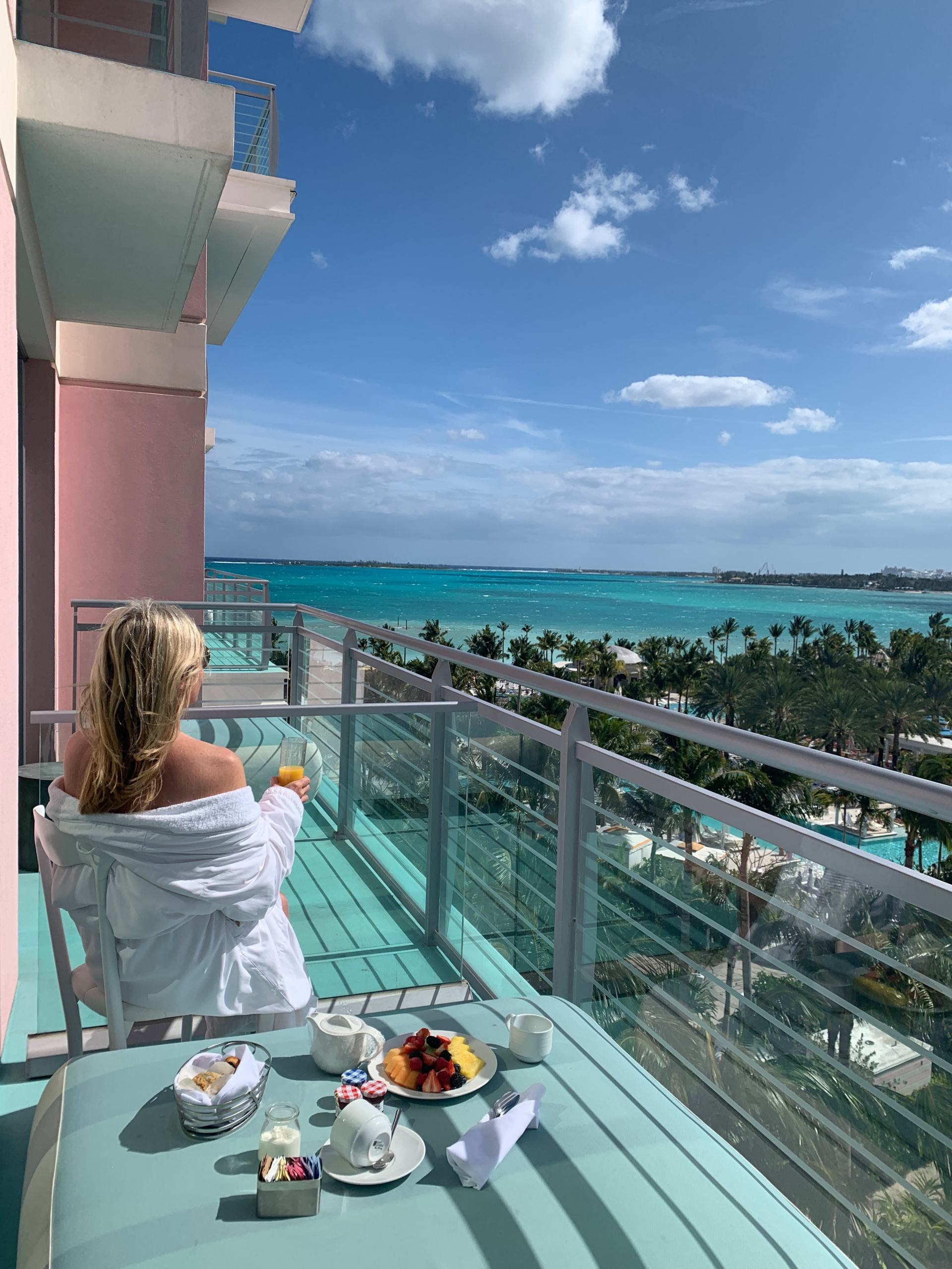 balcony breakfast baha mar
