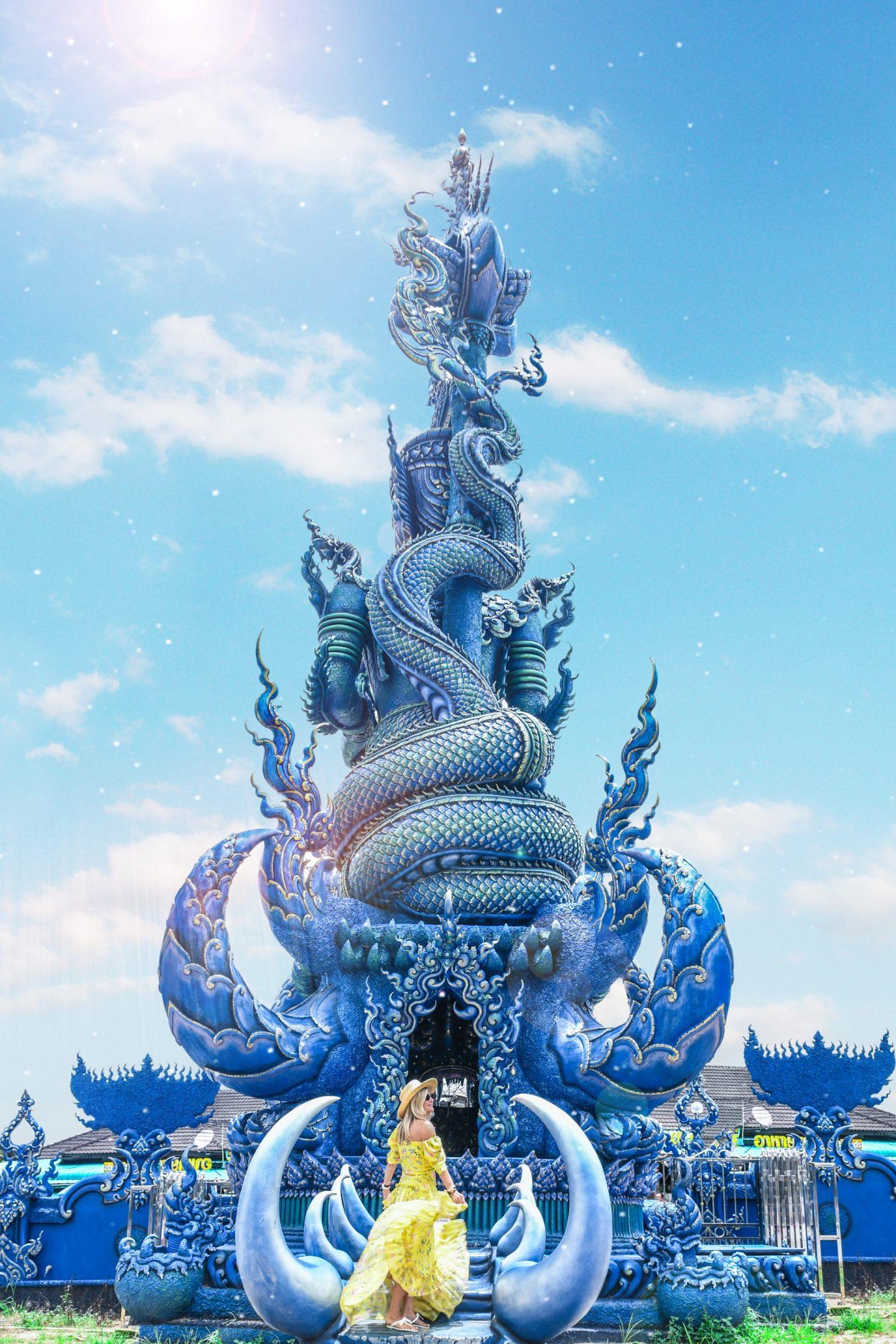 Blue Temple Thailand