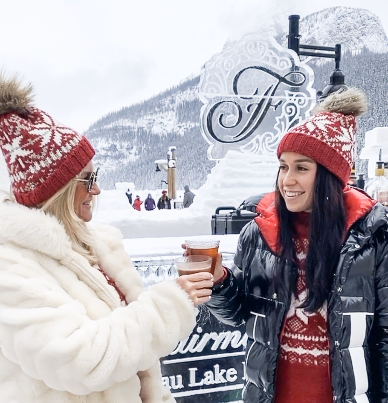fairmont lake louise ice bar