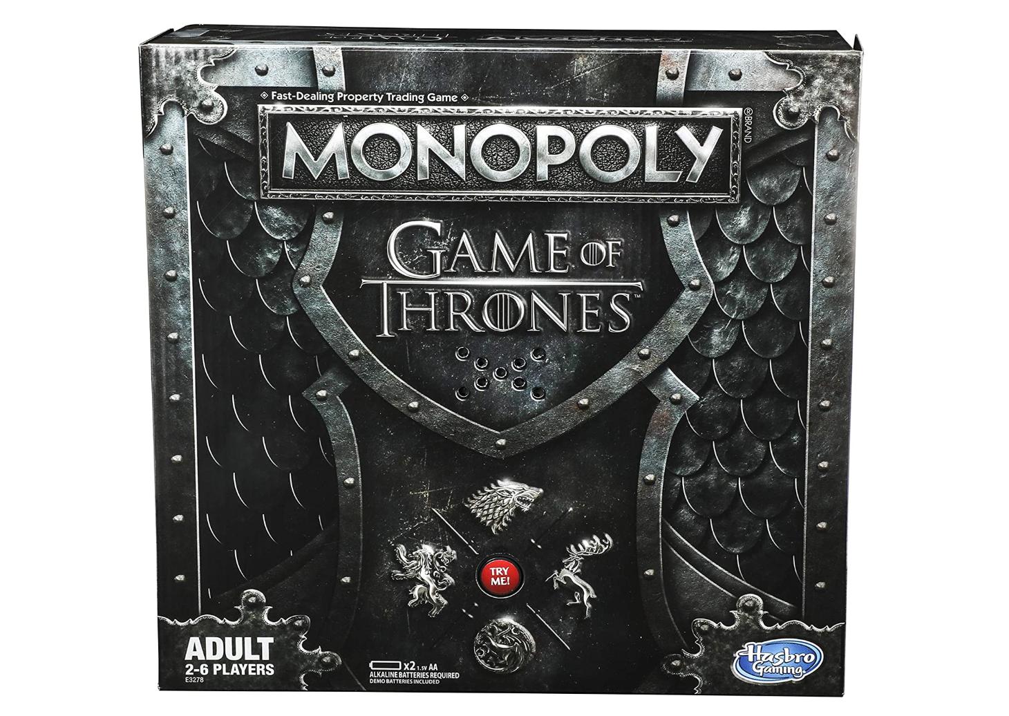 quarantine game of thrones monopoly