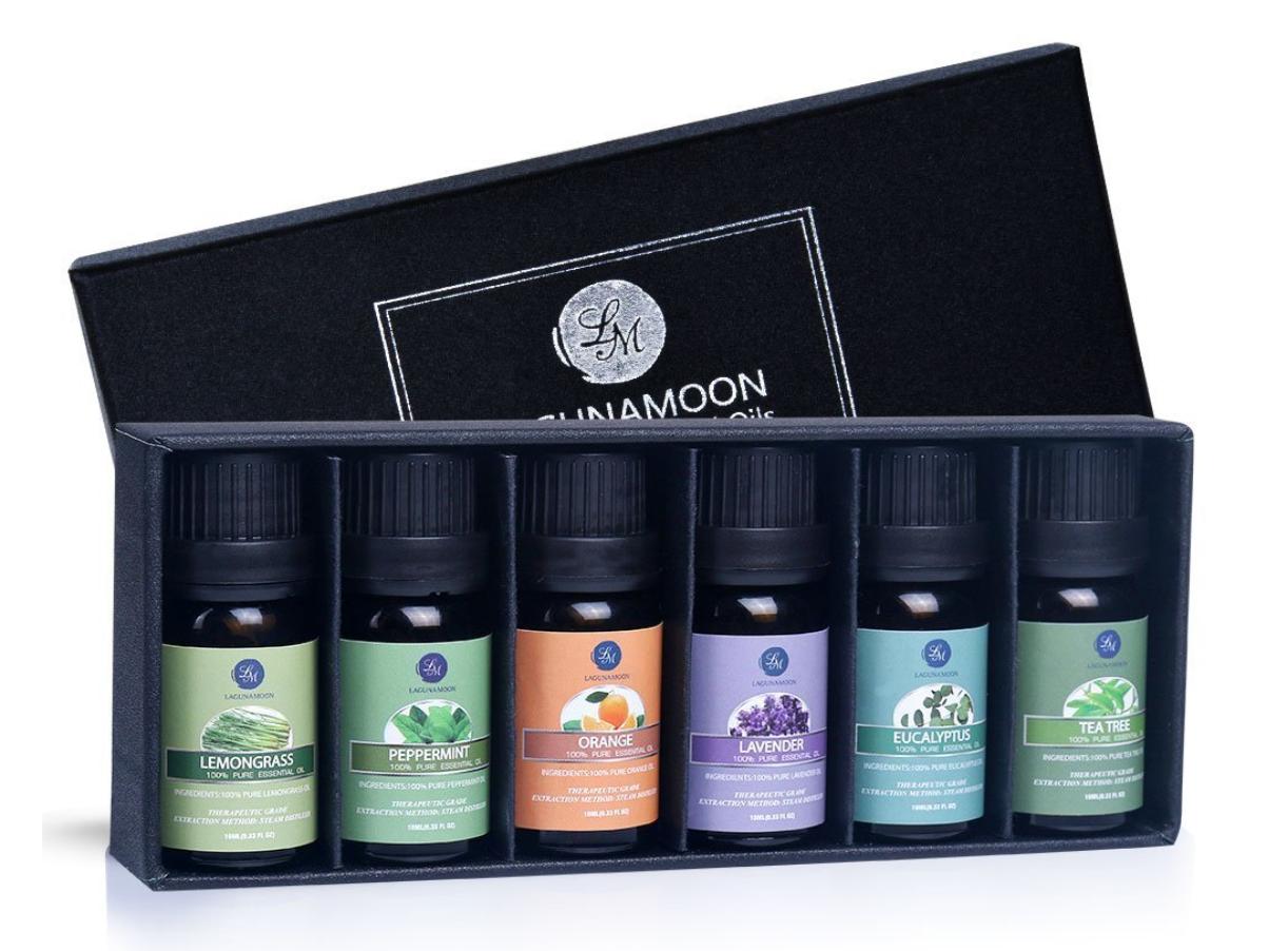 essential oils self-care