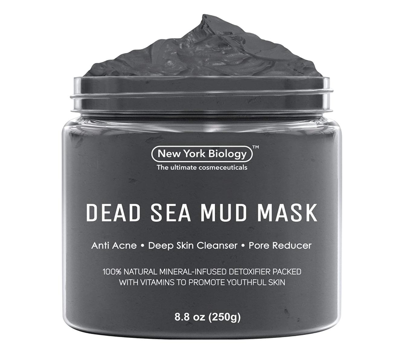 dead sea mud mask beauty
